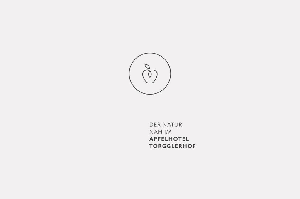 Das neue Logo des Apfelhotel Torgglerhof im Passeiertal