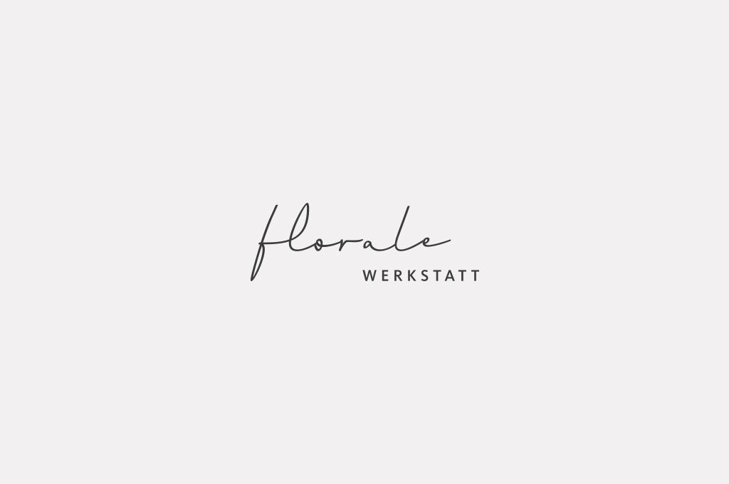 Das neue Logo der Floralen Werkstatt in Lana