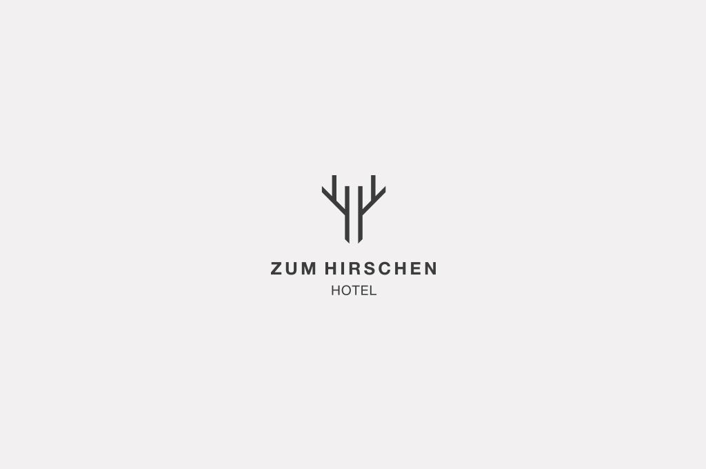 Gasthof Hotel Zum Hirschen mit neuem Logo