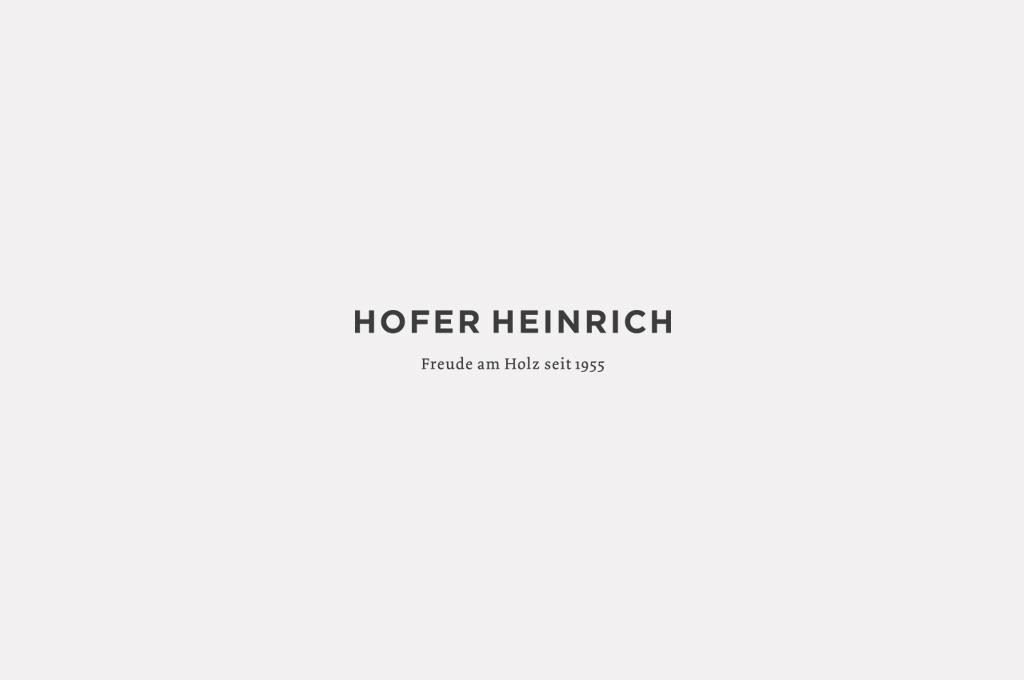 Das Logo von der Tischlerei Hofer Heinrich im Passeiertal