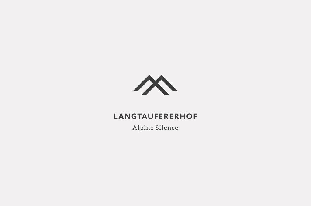 Das Logo des Hotel Langtaufererhof im Vinschgau